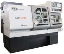 CAK6136c车铣复合机床加工视频